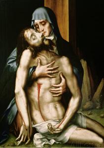 Pieta, 1560-1570, by Luis de Morales